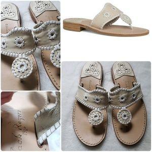 Jack Rodgers Palm Beach Sandals Sz 9